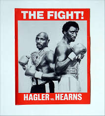 """Keep your """"Mayweather vs. Pacquiao.""""  I'll stick with """"Hagler vs.Hearns.""""*"""