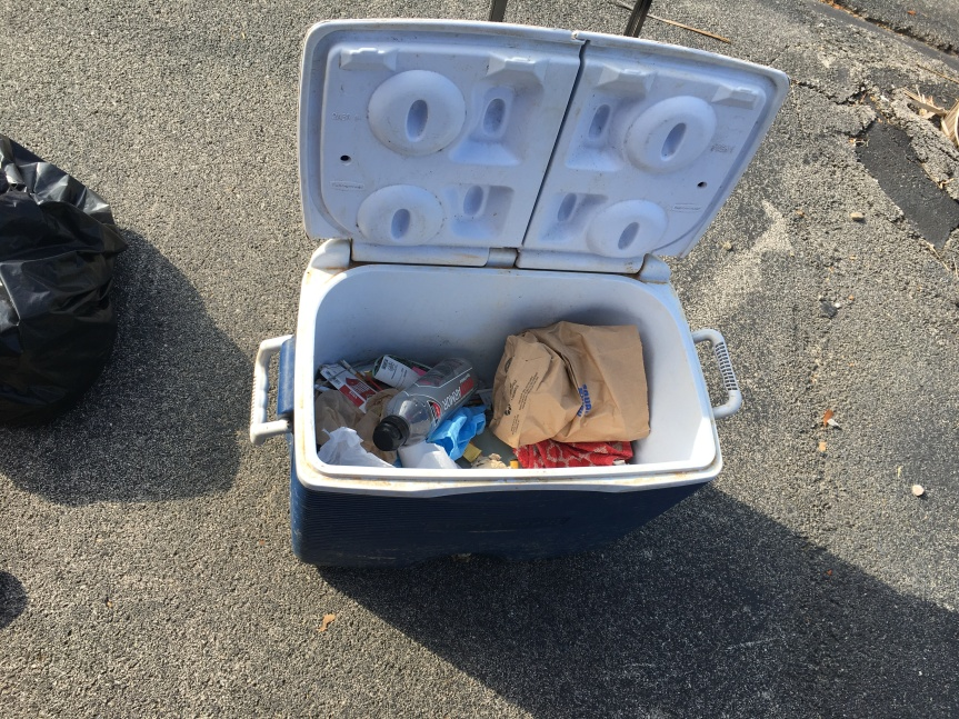 The curious case of the abandoned cooler